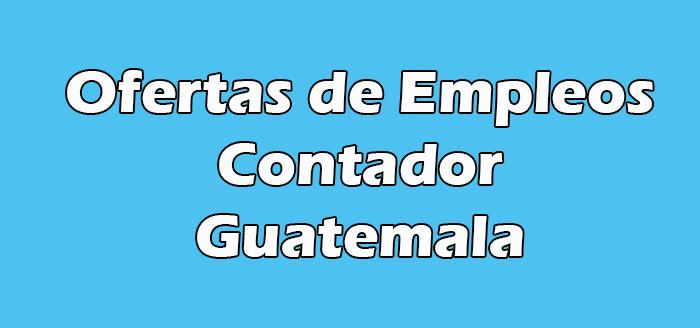 Empleo de Contador en Guatemala