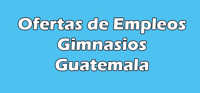Trabajos en Gimnasios en Guatemala