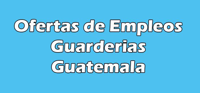 Trabajos en Guarderias en Guatemala
