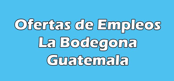 Trabajo en La Bodegona Antigua en Guatemala
