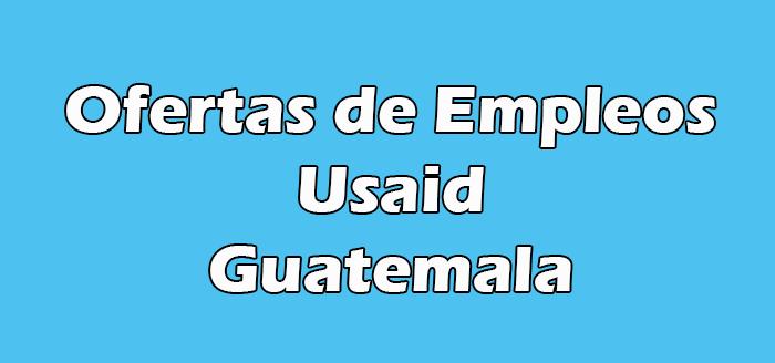Usaid Empleos Guatemala