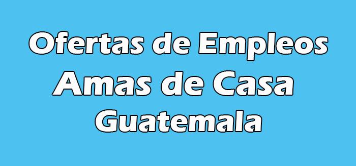 Empleos para Amas de Casa en Guatemala