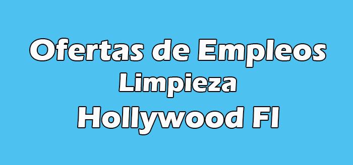 Trabajos de Limpieza en Hollywood Fl