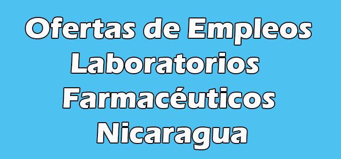 Empleos en Laboratorios Farmacéuticos en Nicaragua