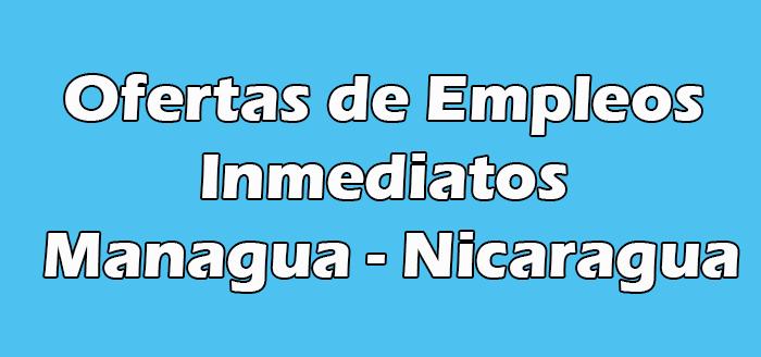 Trabajos Inmediatos en Managua