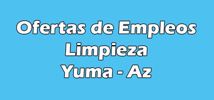 Trabajos de Limpieza en Yuma Az