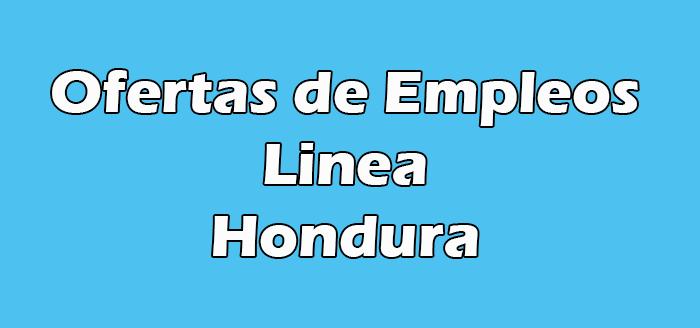 Trabajos en Linea Honduras
