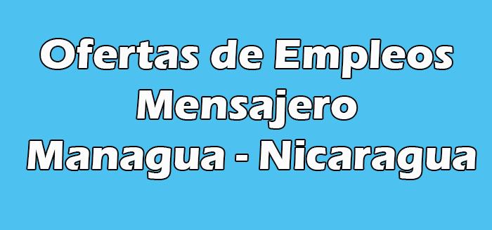 Trabajo de Mensajero en Managua